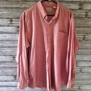Men's LL Bean Button-down Shirt Size XL